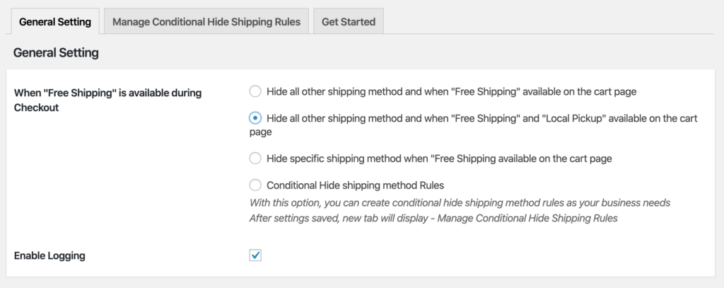 How to Hide All Shipping Methods if Cart Qualifies for Free Shipping or Local Pickup?