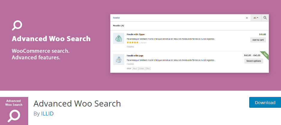 Plugin 2 - Advanced Woo Search - 5 Awesome WordPress Search Plugins